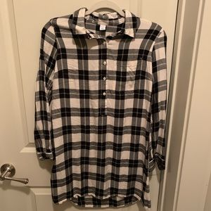 Old Navy Flannel Shirtdress - Size S